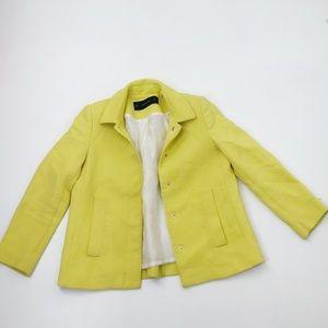 Zara Basic Yellow Blazer Size XS